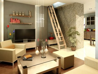 Drewniane schody marki Radex dla 4iQ