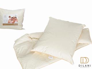 Kołdry i poduszki Dilani.