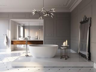 Jak stylowo urządzić łazienkę i salon kąpielowy.