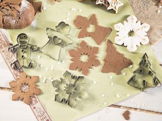 Kuchenne akcesoria na świąteczne pierniczki