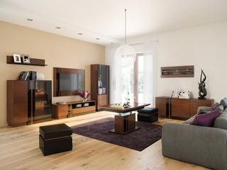 Vigo – aranżacja salonu w stylu nowoczesnym