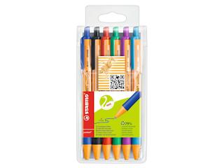 Ekologiczne długopisy Stabilo.