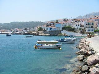 Podróż na Samos i Chios.