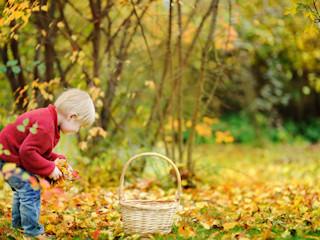 Jesienne sposoby na spędzenie czasu z dzieckiem