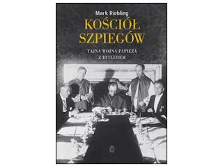"""Recenzja książki """"Kościół szpiegów""""."""