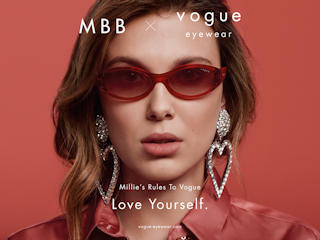 Millie Bobby Brown ambasadorką Vogue Eyewear
