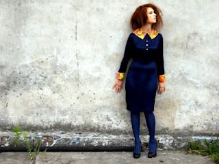 Sukienka projektu Malwiny Wójcik w jesiennej kolekcji Every Nature