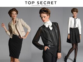 Przed nadchodzącymi świętami warto odwiedzić sklepy Top Secret