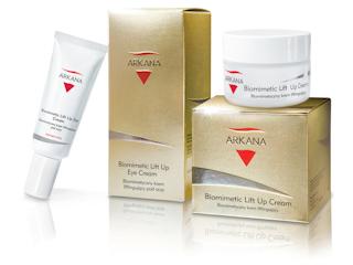 Kosmetyki biomimetyczne Arkana do pielęgnacji twarzy.