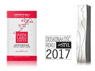 Maska Hada Labo Tokyo wybrana na doskonałość roku 2017