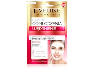 Przeciwzmarszczkowa maseczka peptydowa UJĘDRNIENIE z serii Ekspert Odmłodzenia Eveline Cosmetics.