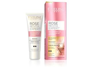 Różany ultra-regenerujący krem-maska z serii ROSE REVITA EXPERT™ Eveline Cosmetics.