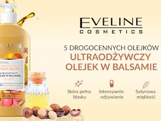 Ultraodżywczy olejek w balsamie 5 OLEJKÓW z linii Botanic Expert Eveline Cosmetics.