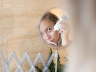 Prawidłowa pielęgnacja skóry twarzy.