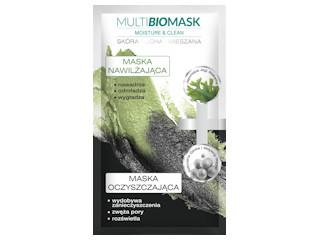 Moisture & Clean maska nawilżająca + maska oczyszczająca do twarzy.