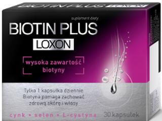 Suplement diety Biotin Plus Loxon.