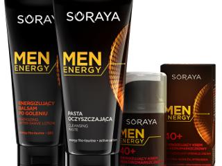 Kosmetyki Men Energy Soraya.