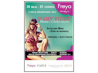 Promocje zakupowe w sklepach brafittingowych na marki Freya, Fantasie, Fauve, Elomi