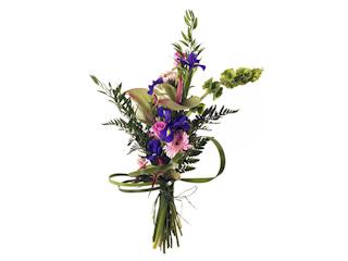 Prezent urodzinowy w formie kwiatów