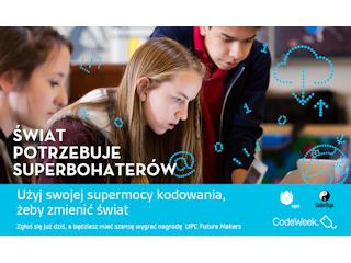 Superbohater kodowania poszukiwany: UPC Polska wystartowało z kolejną odsłoną UPC Future Makers.