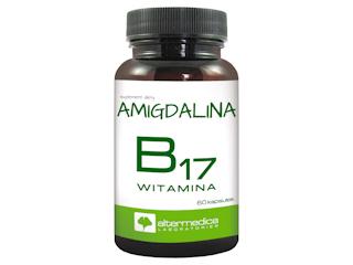 Suplement diety z witaminą B17 - Amigdalina od Alter Medica.