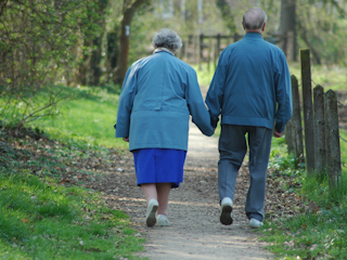 Życie u boku osoby chorej na Alzheimera.