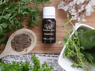Eteryczny olejek kminkowy na dobre trawienie