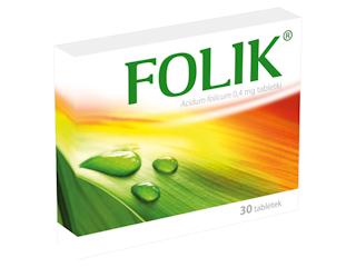 Folik - kwas foliowy.