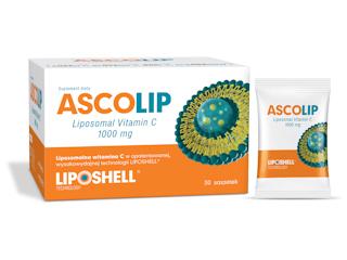 ASCOLIP - wysokowydajna, liposomalna witamina C dla zdrowia i urody.