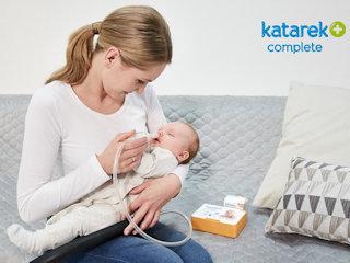 Skutki nieleczonego kataru u niemowlaka.