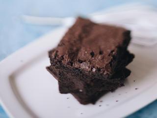 Przepis na zimowe brownie.