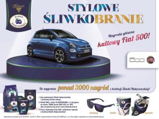 Stylowy Fiat 500 i designerska kolekcja gadżetów do wygrania