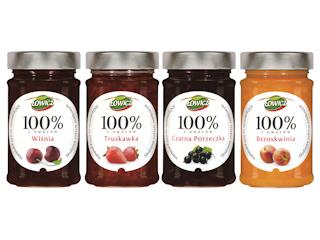 Nowa linia produktów dżemowych z dużą zawartością owoców i bez dodatku cukru!
