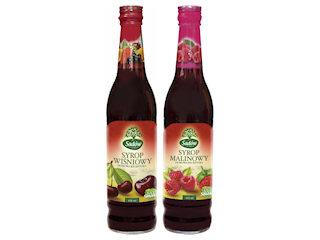 Nowość - Sadów syrop wiśniowy 430 ml.