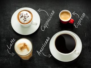 Przegląd rodzajów kaw.