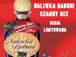 Nalewka Babuni - Czarny bez.